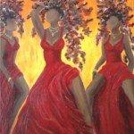 danse autour du feu