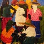 scène de marché haiti