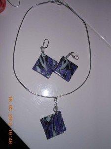 CREATIONS UNIQUES (bijoux, customisation, déco, etc...)  parure-violet3-225x300